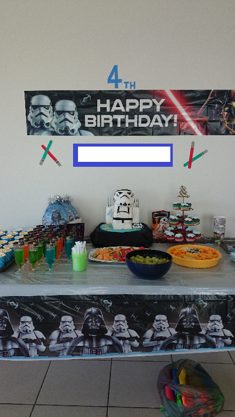 海外誕生日パーティケーキ