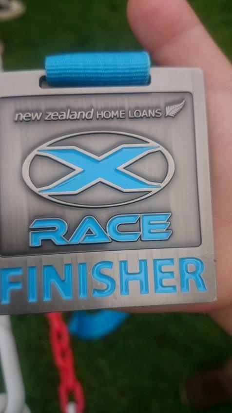 エックスレースXraceメダル