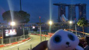 シンガポールF1観戦