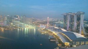 シンガポールお勧めレストランLeVel332