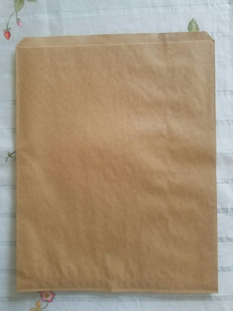 タックショップ茶色の袋