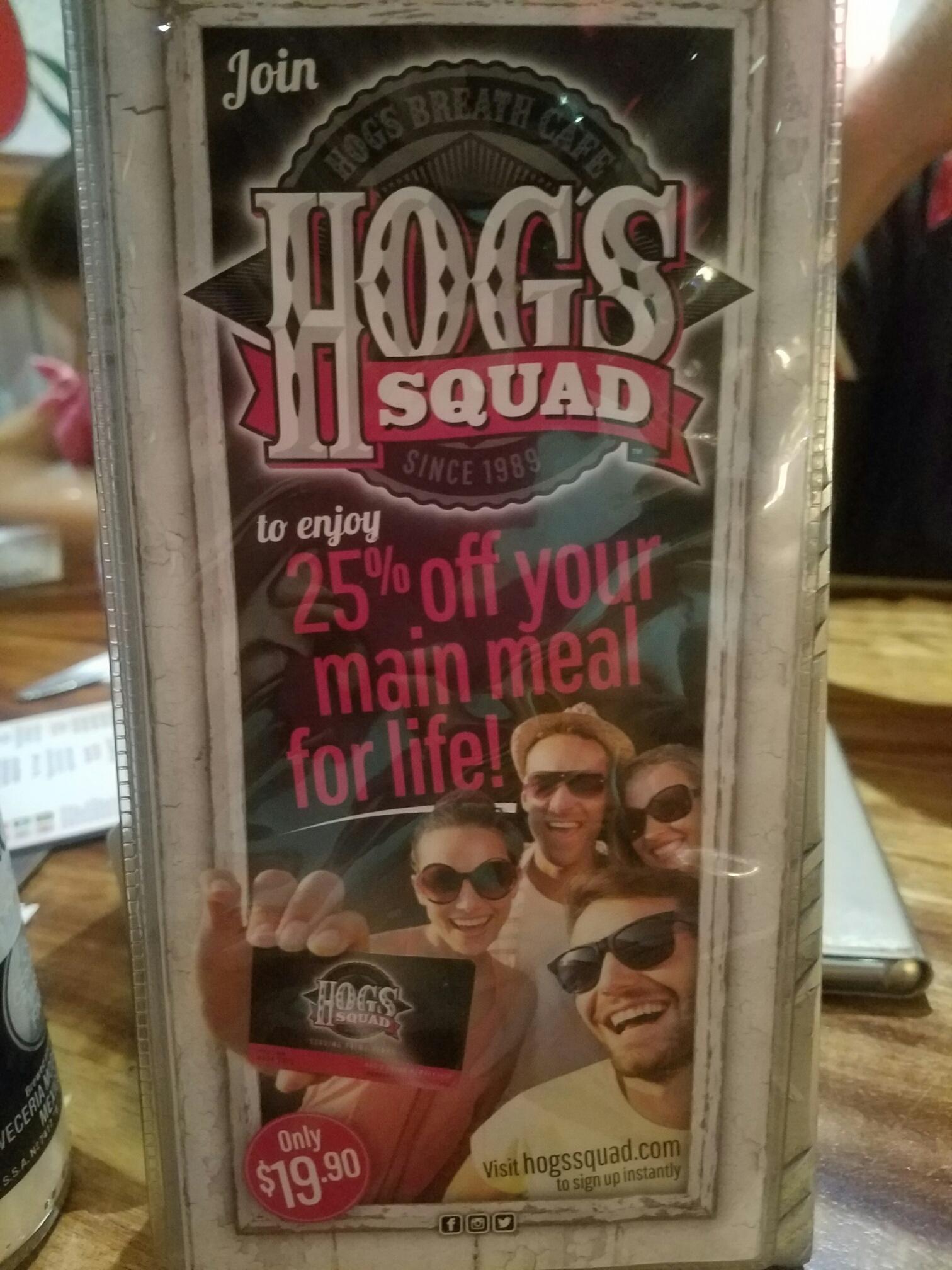 HOGSサーファーズパラダイスレストラン3