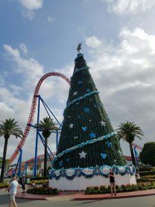 ムービーワールドクリスマスツリー